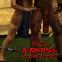 Barbarians for Sickle Loincloth 3D Figure Assets SickleYield