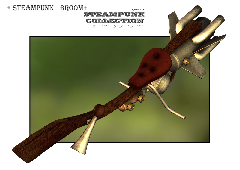 SteamPunk - Broom