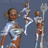 Elven Desire Outfit V4, A4, G4 image 1
