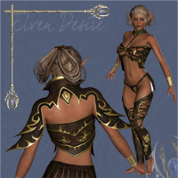 Elven Desire Outfit V4, A4, G4 image 3