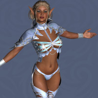 Elven Desire Outfit V4, A4, G4 image 5