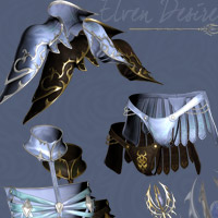 Elven Desire Outfit V4, A4, G4 image 6