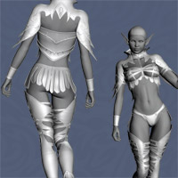 Elven Desire Outfit V4, A4, G4 image 7