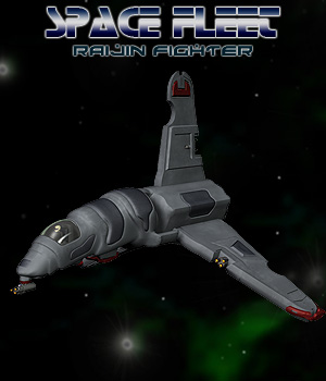 Raijin Space Fighter 3D Models Simon-3D