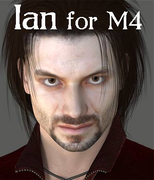 Ian Character for M4 and Genesis 3D Figure Assets RPublishing