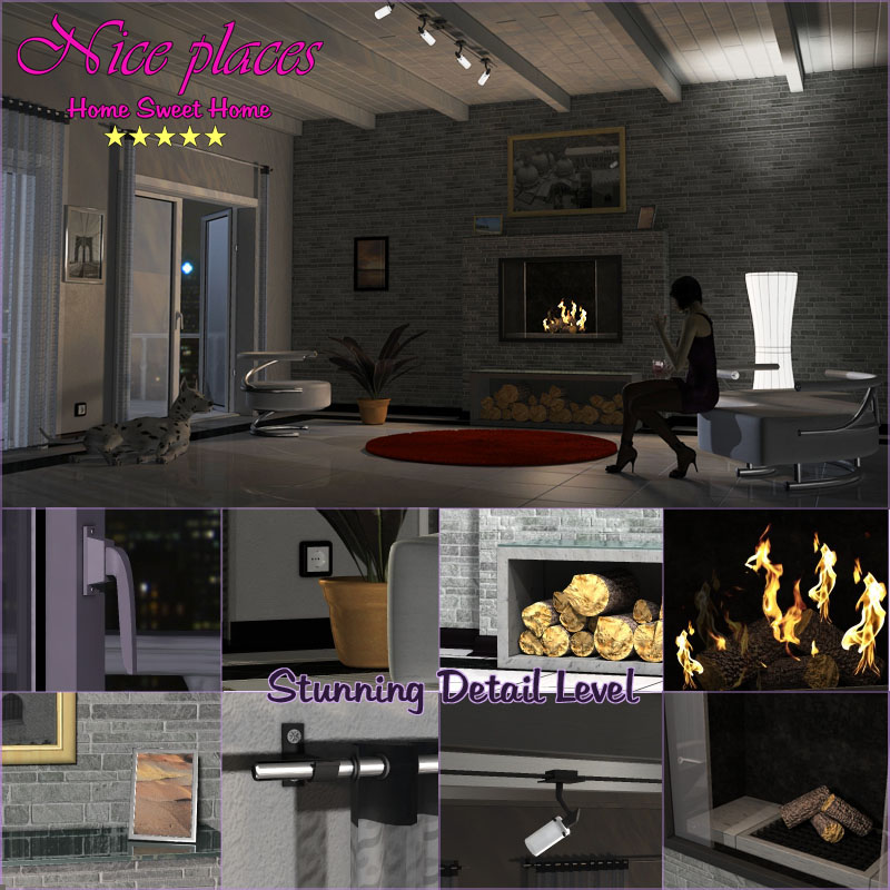 Nice Places - Home Sweet Home by 3-D-C