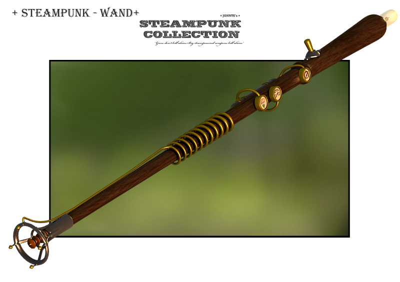 SteamPunk - Wand