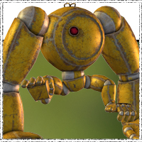 SteamPunk Robots - the Gorilla 3D Models jonnte