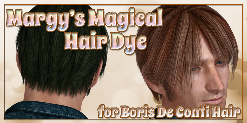 Margy's Magical Hair Dye for Boris De Conti Hair