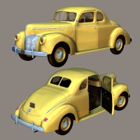 Ford Coupe 1940 by Nationale7