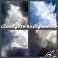 Cloudgate backgrounds 2D 3D Models prae