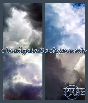 Cloudgate backgrounds 3D Models 2D prae