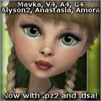 Tesha Hair Software Hair -Wolfie-