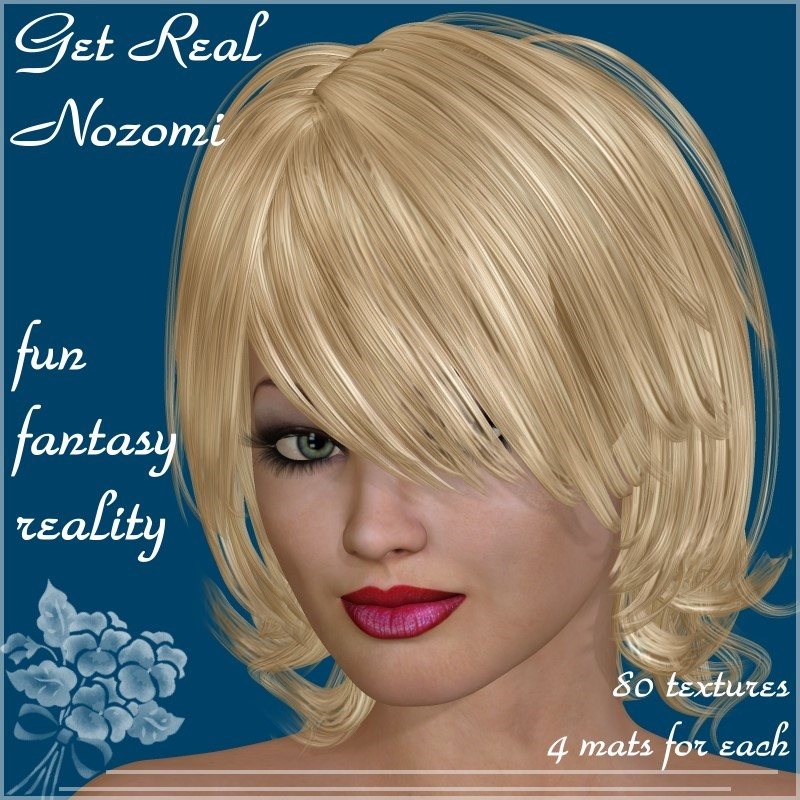 Get Real for SM_Nozomi Hair