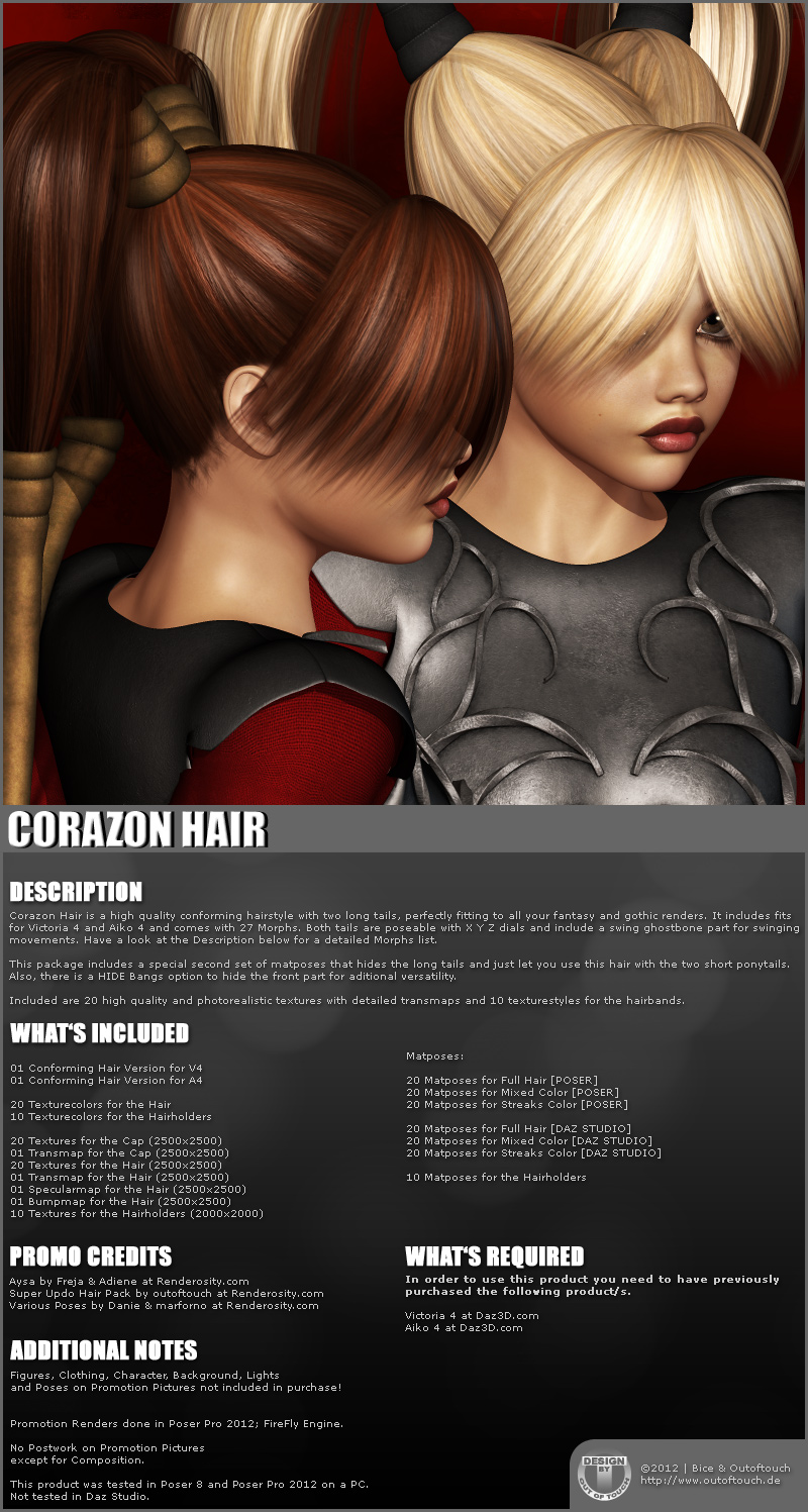 Corazon Hair 2-in-1