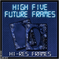 Hi 5 Future Frames 2D And/Or Merchant Resources Themed Bez