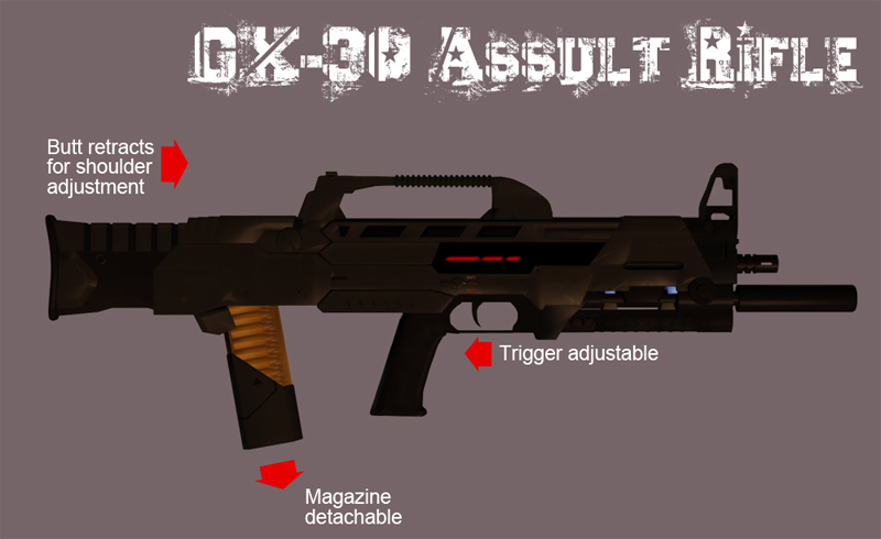 GX-30 Assult Rifle