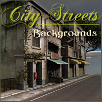 City Streets  2D And/Or Merchant Resources Themed -Melkor-
