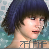 Surreal Zelene 3D Figure Essentials surreality