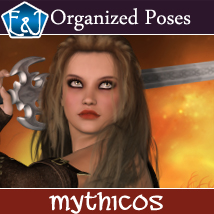 Mythicos 564 Organized Poses For V4 Poses/Expressions Themed Software EmmaAndJordi