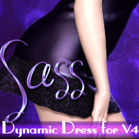 Sass for V4 Clothing PandyGirl