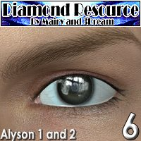 DR6-Alyson 3D Figure Assets 2D Graphics 3Dream