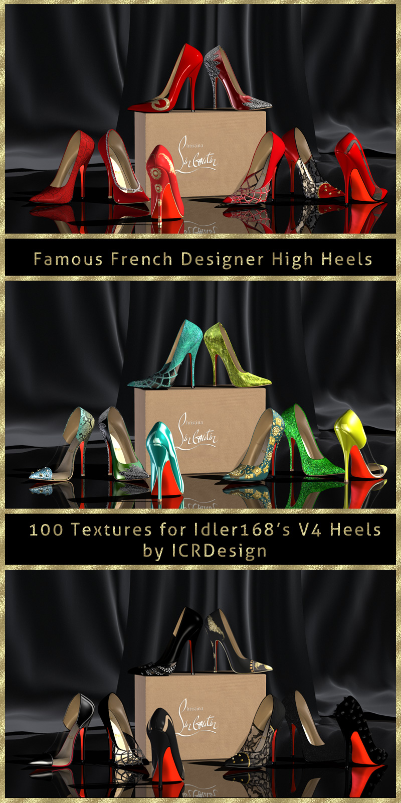 Famous French Designer High Heels