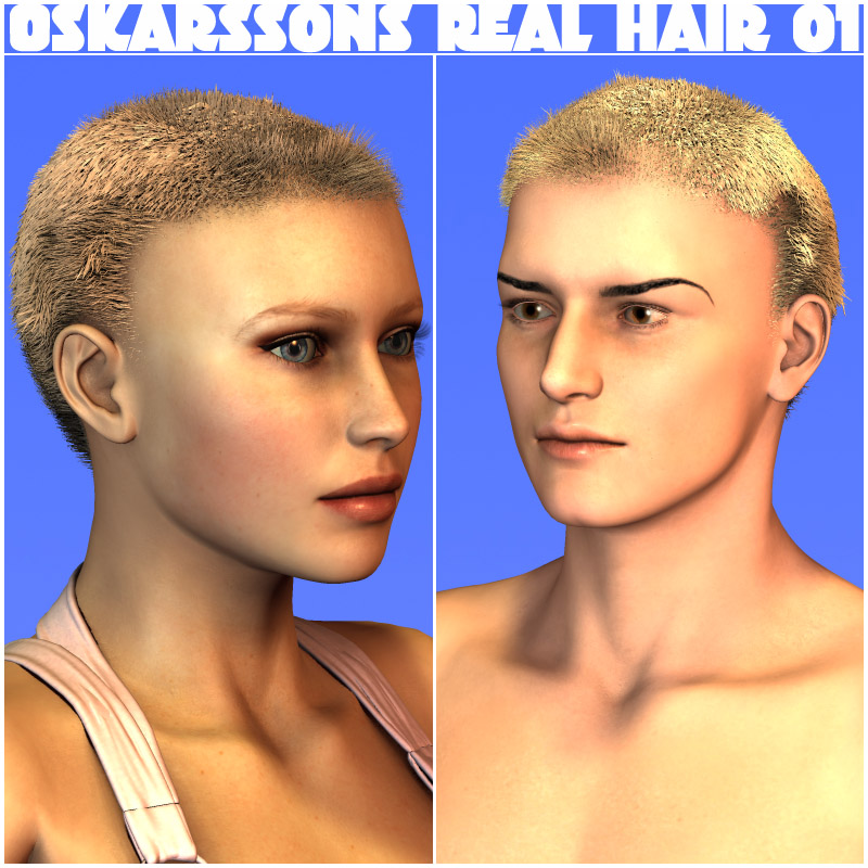 Oskarssons Real Hair01