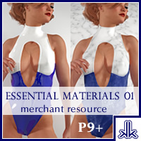 Essential Materials 01 P9+ 2D kobaltkween
