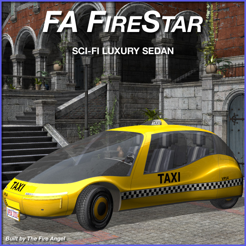 FA FireStar Sci-Fi Luxury Sedan