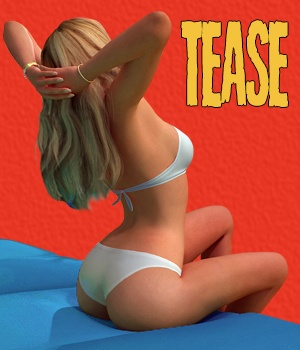 Tease - 60 poses for V4 3D Figure Essentials $3.99 Sale Items Week 2 hameleon