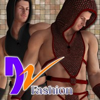 DZ AericHoodie for M4H4Guy4 3D Figure Essentials dzheng