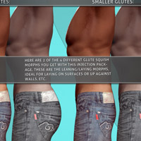 i13 SQUISH glute morphs for M4 image 2
