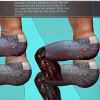 i13 SQUISH glute morphs for M4 image 3