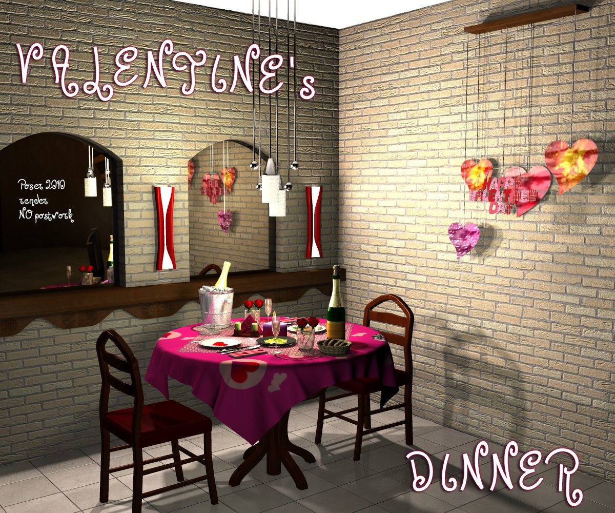 Valentine's Dinner by greenpots