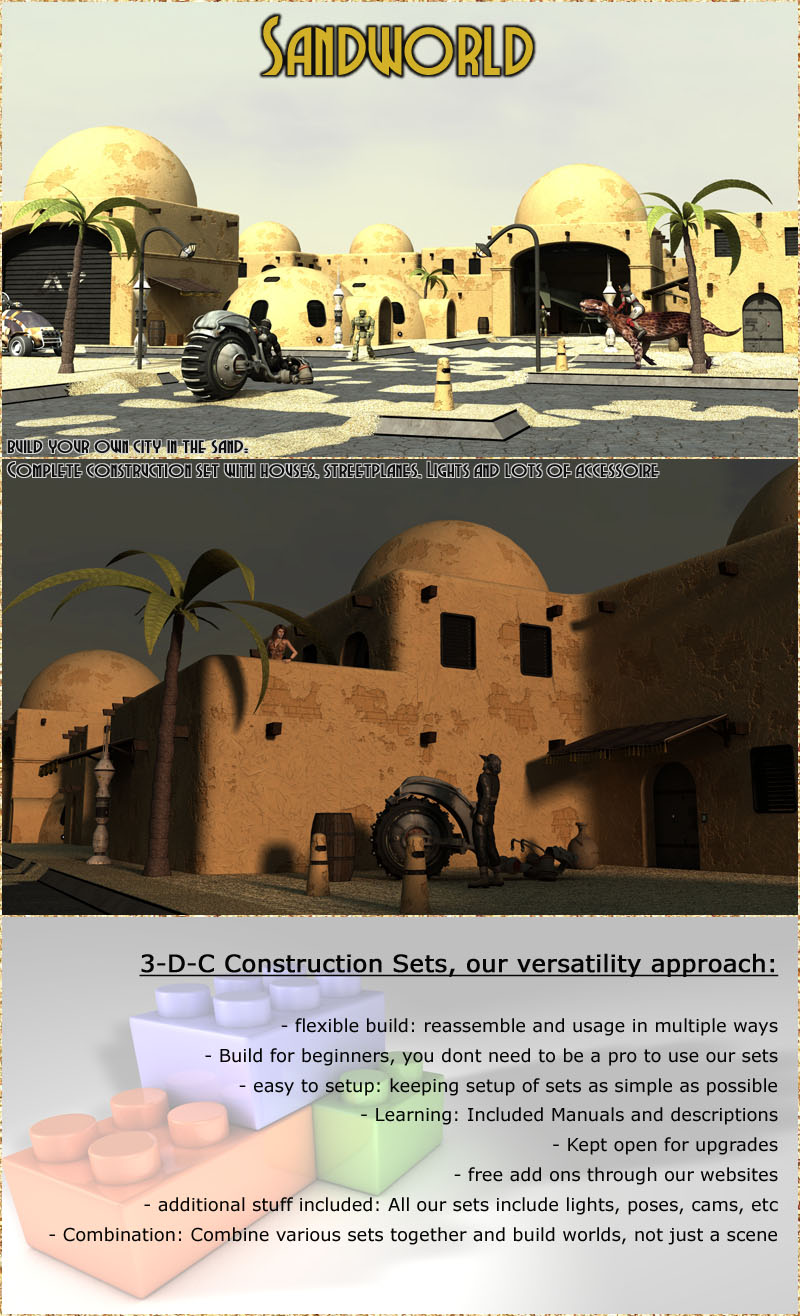 Sandworld City Construction Set