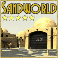 Sandworld City Construction Set Software Props/Scenes/Architecture Themed 3-d-c