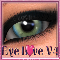 Eye Love V4 2D Graphics nikisatez