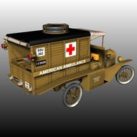 FORD T AMBULANCE 1918 ( for Poser ) image 1