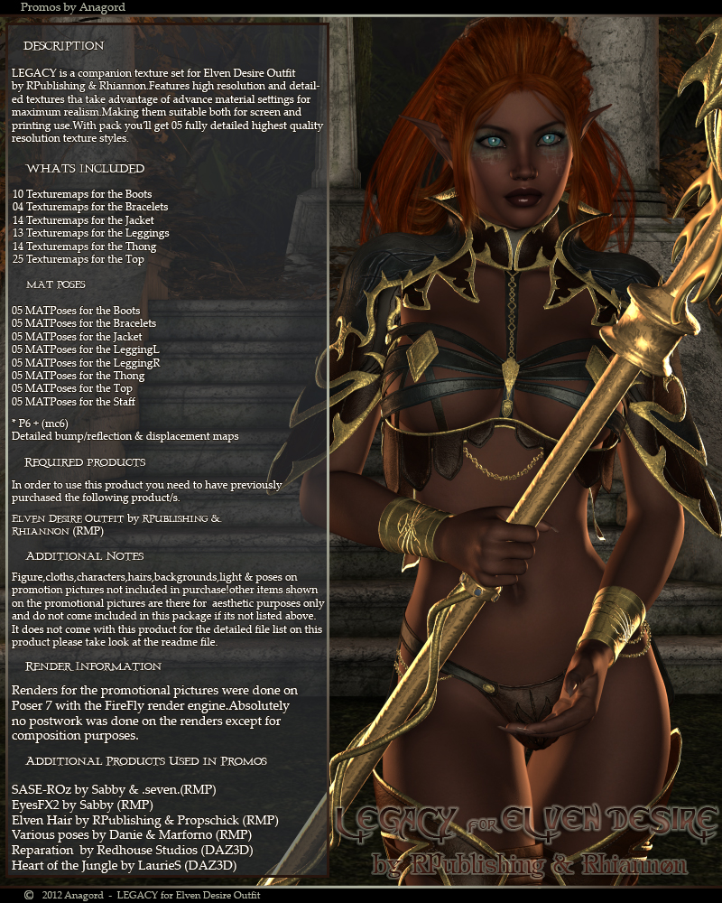 LEGACY for Elven Desire Outfit