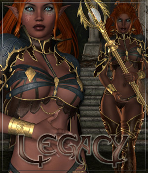 LEGACY for Elven Desire Outfit Clothing Themed Anagord