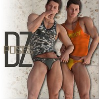 DZ UnderGear Model Poses 3D Figure Essentials dzheng