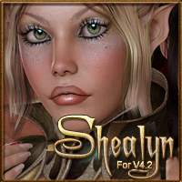 MDD Shealyn for V4.2 3D Figure Assets Maddelirium