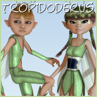 Tropidoderus 3D Figure Essentials 3D Models 3DTubeMagic