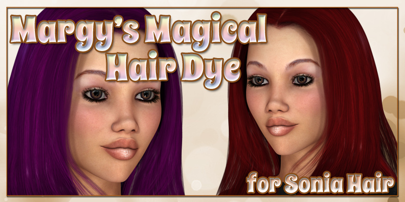Margy's Magical Hair Dye for Sonia Hair