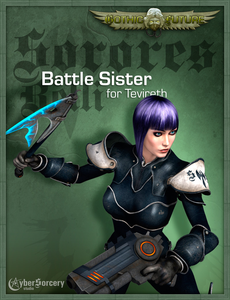 GF Battle Sister Armor for Tevireth