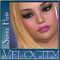 Velocity-Sonia Hair 3D Figure Essentials PandyGirl