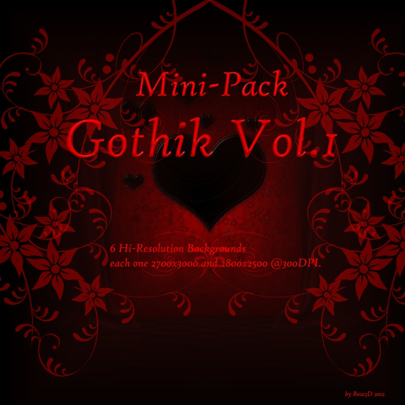 BG Mini-Pack Vol.1 Gothik
