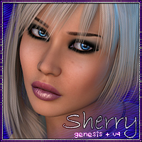 Sherry 3D Figure Essentials Vex