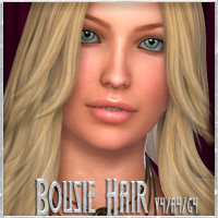 Bousie Hair V4-A4-G4 3D Figure Essentials nikisatez